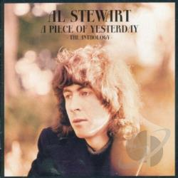 Stewart, Al - Piece of Yesterday: The Anthology CD Cover Art