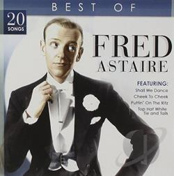 Astaire, Fred - Best of Fred Astaire CD Cover Art