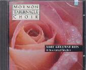 Mormon Tabernacle Choir - More Greatest Hits: 18 Best-Loved Favorites CD Cover Art