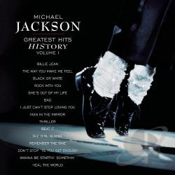 Jackson, Michael - Greatest Hits: HIStory, Vol. 1 CD Cover Art