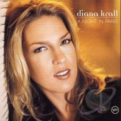 Krall, Diana - Live in Paris CD Cover Art