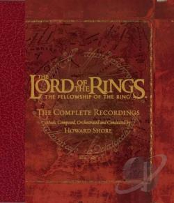 Shore, Howard - Lord of the Rings: Fellowship of the Ring - The Complete Recordings CD Cover Art