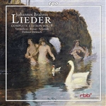 Banse / Brahms / Deutsch / Schmidt / Vermillion - Brahms: Lieder Complete Edition, Vol. 9 CD Cover Art