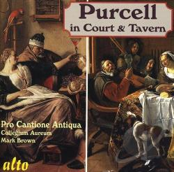Collegeum Aureum / Pro Cantione Antiqua / Purcell - Purcell in the Court and Tavern CD Cover Art