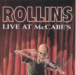 Rollins, Henry - Live @ McCabe's CD Cover Art