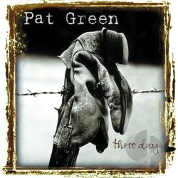 Green, Pat - Three Days CD Cover Art