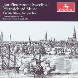 Black / Sweelinck - Jan Pieterszoon Sweelinck: Harpsichord Music CD Cover Art