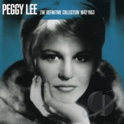 Lee, Peggy - Definitive Collection 1942-1953 CD Cover Art