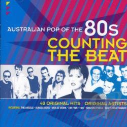 Australian Pop of the 80s: Counting the Beat CD Cover Art