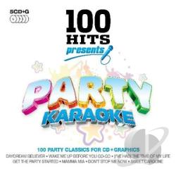 Karaoke - 100 Hits Presents: Party Karaoke CD Cover Art