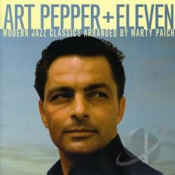 Pepper, Art - Plus Eleven CD Cover Art