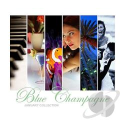 Blue Champagne - January Collection CD Cover Art
