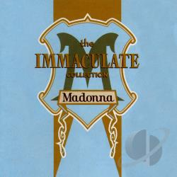 Madonna - Immaculate Collection CD Cover Art