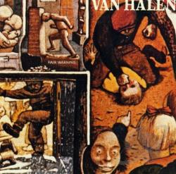 Van Halen - Fair Warning CD Cover Art