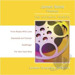 London Symphony Orchestra - James Bond Themes CD Cover Art