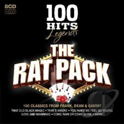 Rat Pack - 100 Hits: Legends CD Cover Art