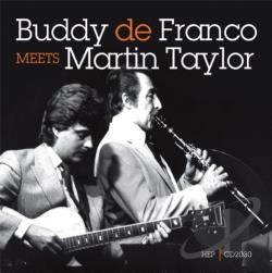 Defranco, Buddy / Taylor, Martin - Buddy DeFranco Meets Martin Taylor CD Cover Art