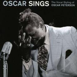 Peterson, Oscar - Oscar Sings: The Vocal Styling of Oscar Peterson CD Cover Art