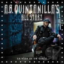 A.B. Quintanilla's All Starz - La Vida de un Genio CD Cover Art