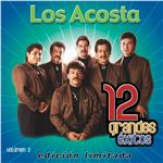 Los Acosta - 12 Grandes Exitos Vol. 2 DB Cover Art