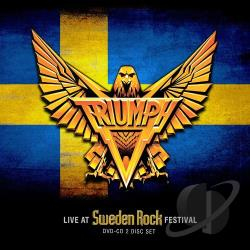 Triumph - Live at Sweden Rock Festival CD Cover Art