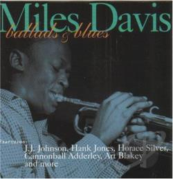 Davis, Miles - Ballads and Blues CD Cover Art