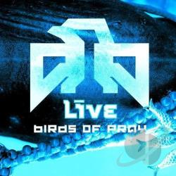 Live - Birds of Pray CD Cover Art