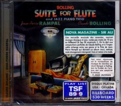 Bolling, Claude / Rampal, Jean-Pierre - Claude Bolling: Suite for Flute and Jazz Piano Trio CD Cover Art