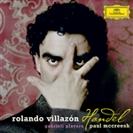 Villazon, Rolando - Handel: Arias CD Cover Art
