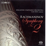 Singapore Symphony O - Rachmaninov: Symphony No. 2 CD Cover Art