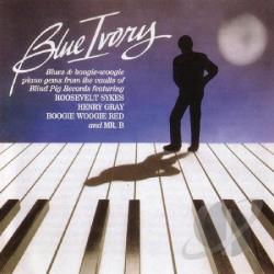 Blue Ivory CD Cover Art