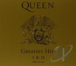 Queen - Greatest Hits, Vols. 1 & 2 CD Cover Art