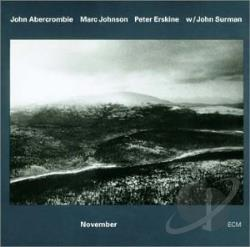 Abercrombie, John - November CD Cover Art
