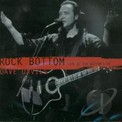 Davies, Dave - Rock Bottom: Live CD Cover Art
