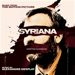 Desplat, Alexandre - Syriana CD Cover Art
