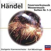 Muenchinger, Karl / Sgko - H�ndel: Music For The Royal Fireworks; Water Music CD Cover Art