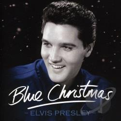 Presley, Elvis - Blue Christmas with Elvis CD Cover Art
