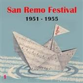 Various Artists - Italian Song  / San Remo Festival, Volume 1 (1951 - 1955) DB Cover Art