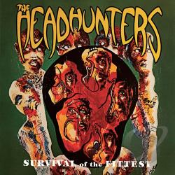 Headhunters - Survival of the Fittest/Straight From the Gate CD Cover Art