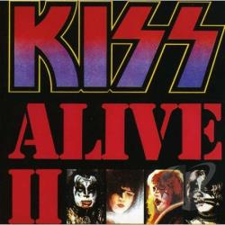 Kiss - Alive II CD Cover Art