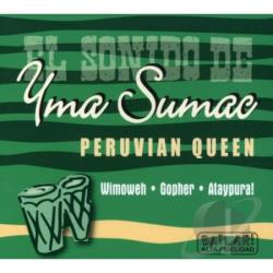 Sumac, Yma - Peruvian Queen CD Cover Art