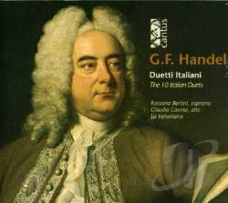 Handel - Handel: The 10 Italian Duets CD Cover Art