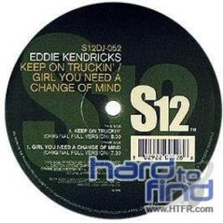 Kendricks, Eddie - Keep On Truckin'/Girl You Need A Change Of Mind CD Cover Art