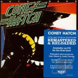 Coney Hatch - Outa Hand CD Cover Art