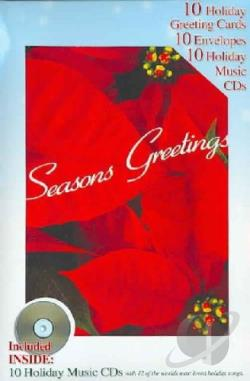 Seasons Greetings: 10 Holiday Greeting Cards, 10 Envelopes, 10 CD's CD Cover Art