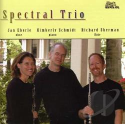 Eberle, Jan - Spectral Trio CD Cover Art