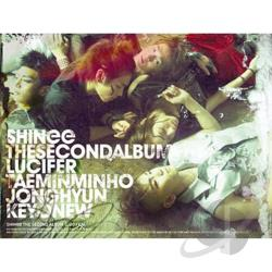 Shinee - Lucifer CD Cover Art