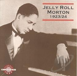 Morton, Jelly Roll - 1923-1924 CD Cover Art