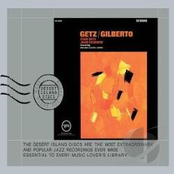 Getz, Stan / Gilberto, Joao - Getz/Gilberto CD Cover Art