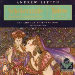 Litton / Lpo - Ravel:Bolero CD Cover Art